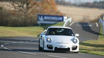 911 GT2 on track at the Porsche Driving Experience Centre, Silverstone
