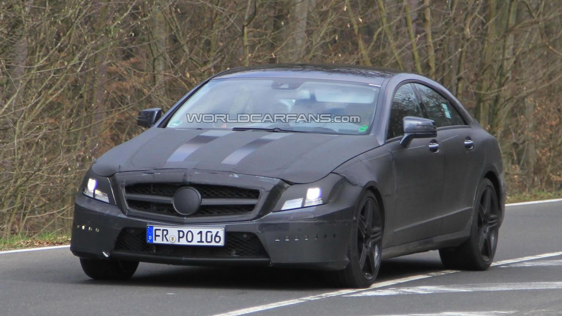 2012 Mercedes CLS 63 AMG will debut in LA - report