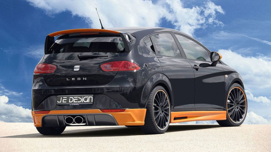 Seat Leon facelift tuning package by JE Design