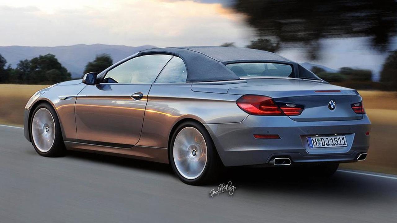 2012 BMW 6-Series Cabrio Rendering
