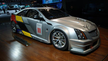 Cadillac CTS-V Racing Coupe live in Detroit 10.01.2011