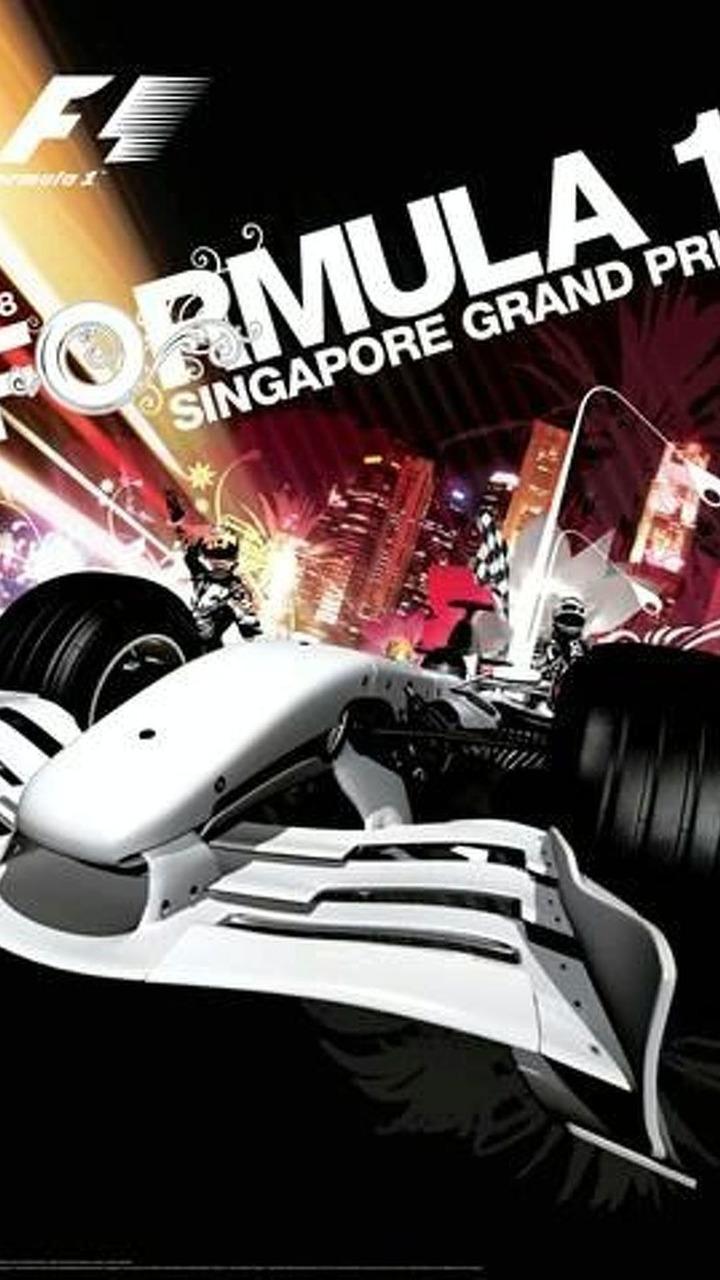 2008 Singapore Grand Prix unofficial artwork