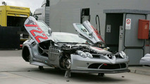 Mercedes-Benz McLaren SLR 722 GT Spied On The 'Ring