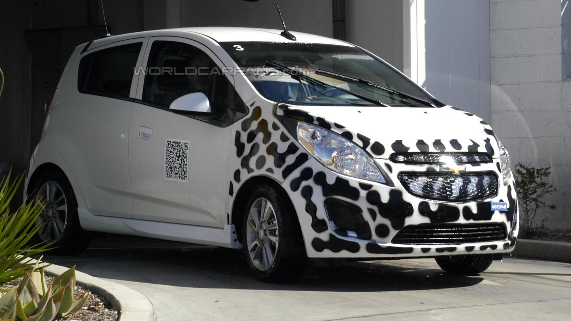 Chevy Spark EV spotted for first time