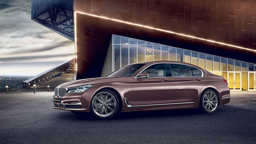 Fancy BMW 7 Series long wheelbase Rose Quartz costs almost $200k