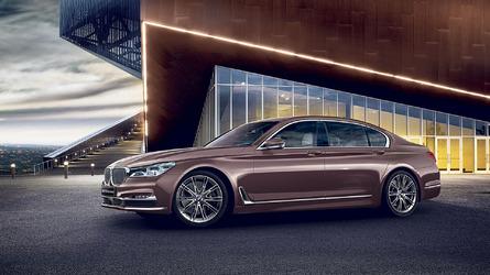 Fancy BMW 7 Series long wheelbase Rose Quartz costs almost $200k