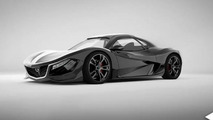 Rotary-powered Mazda RX-9 rendered, looks stunning