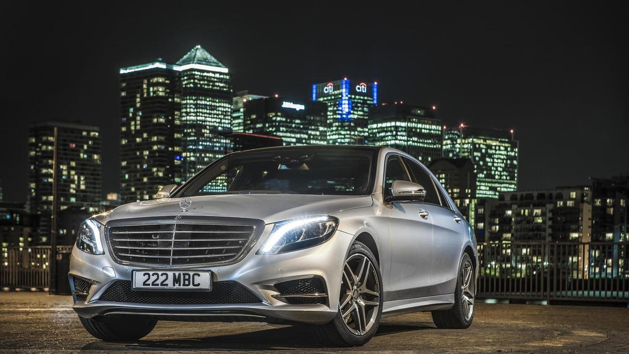 Mercedes-Benz S500 Plug-In Hybrid (UK-spec)