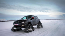 Nissan creates Juke Nismo RSnow with tracks [video]