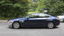 BMW 6-Series GranCoupe facelift spy photo