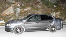 Chinese-market VW sedan model spied testing at night