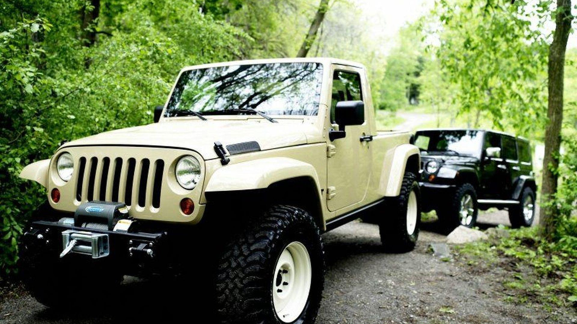 2007 SEMA Jeep Concepts