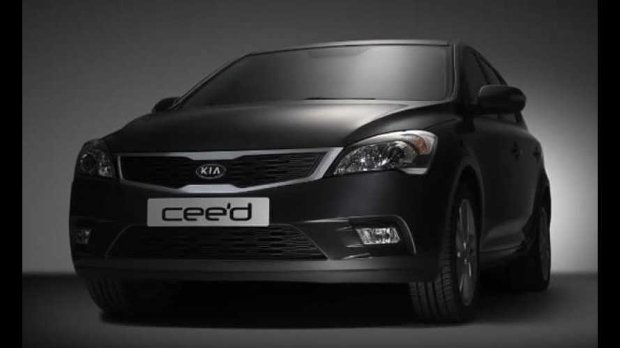 Novo Kia Cee'd - Marca divulga imagem da versão reestilizada - Modelo é equivalente ao Hyundai i30