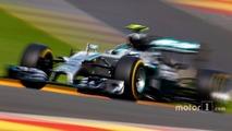 Rosberg set for Halo test in Belgian GP practice