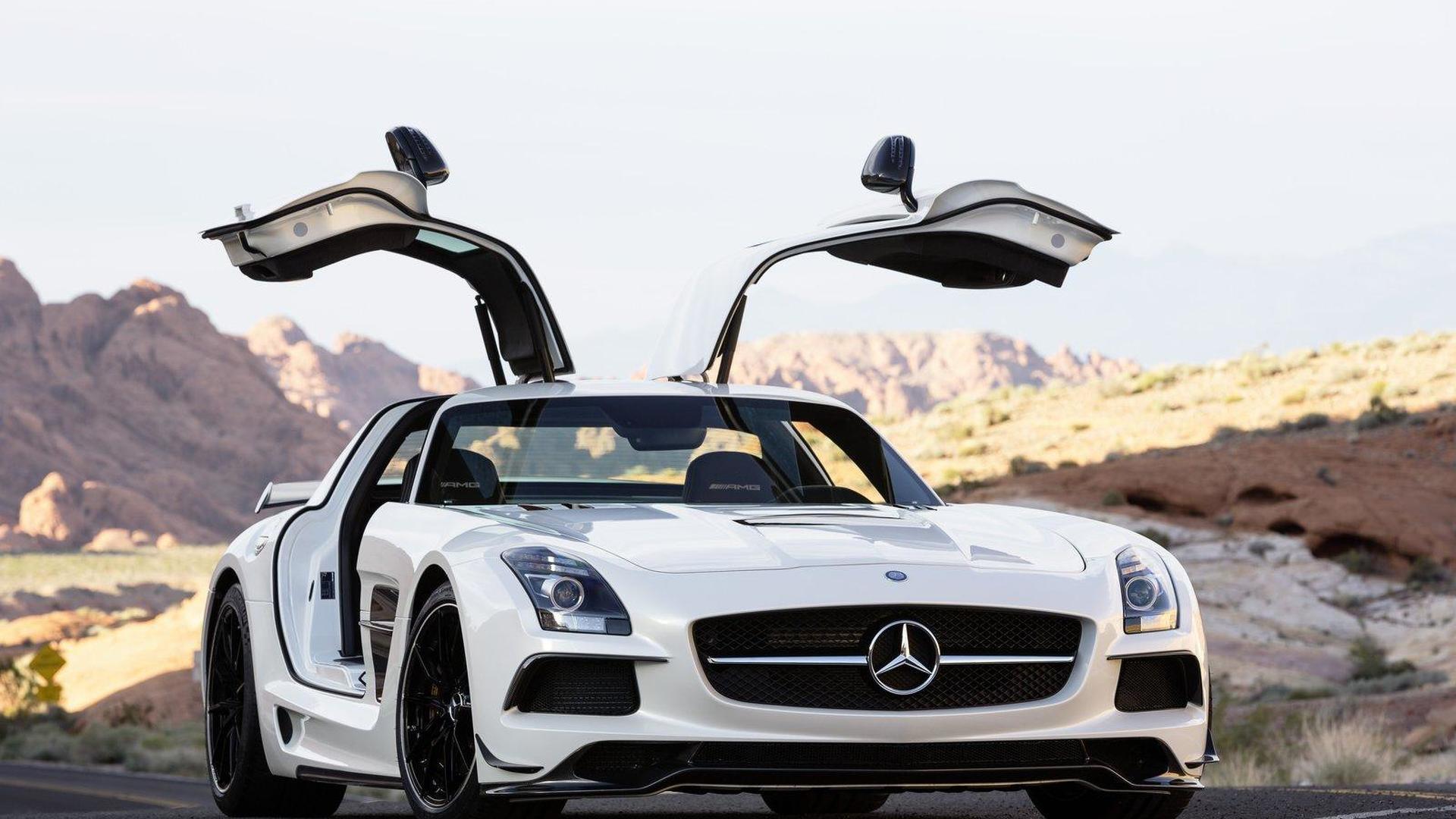 Mercedes SLS AMG Black Series priced