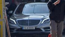 Mercedes-Benz partially reveals 2014 S-Class
