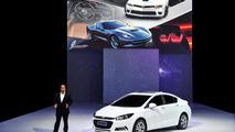 Next-generation Chevrolet Cruze