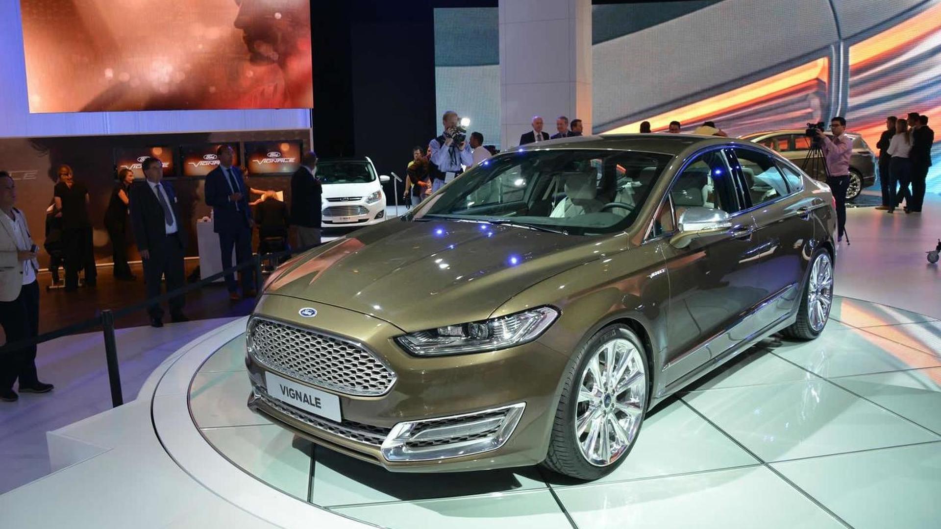 Ford Mondeo Vignale concept debuts at Frankfurt Motor Show