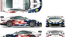 Porsche 911 RSRs to compete in the 2014 Tudor United SportsCar Championship