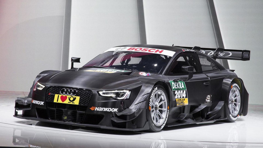 2014 Audi RS 5 DTM revealed in Geneva with aerodynamic styling tweaks