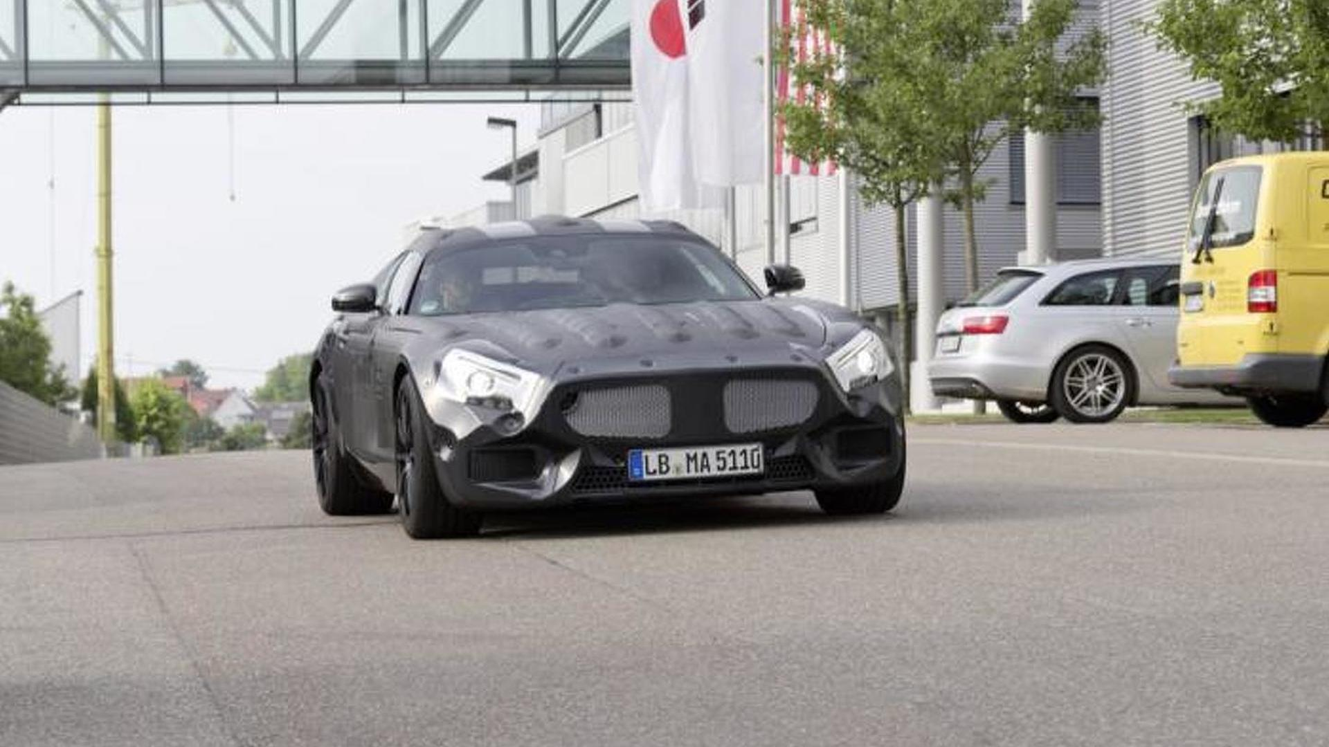 Mercedes SLS AMG successor teased in semi-official spy photos