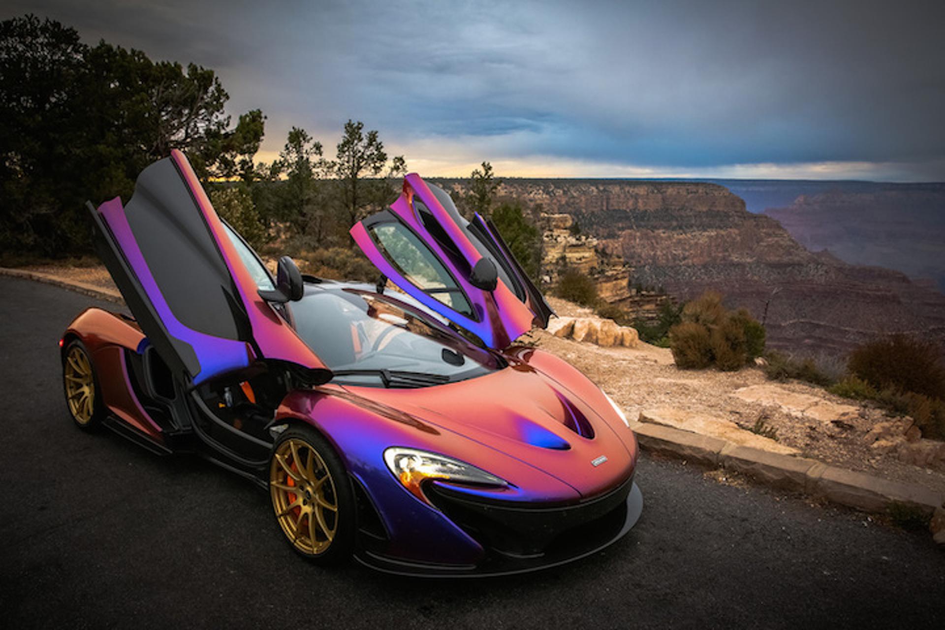 CJ Wilson's McLaren P1 is Mesmerizing