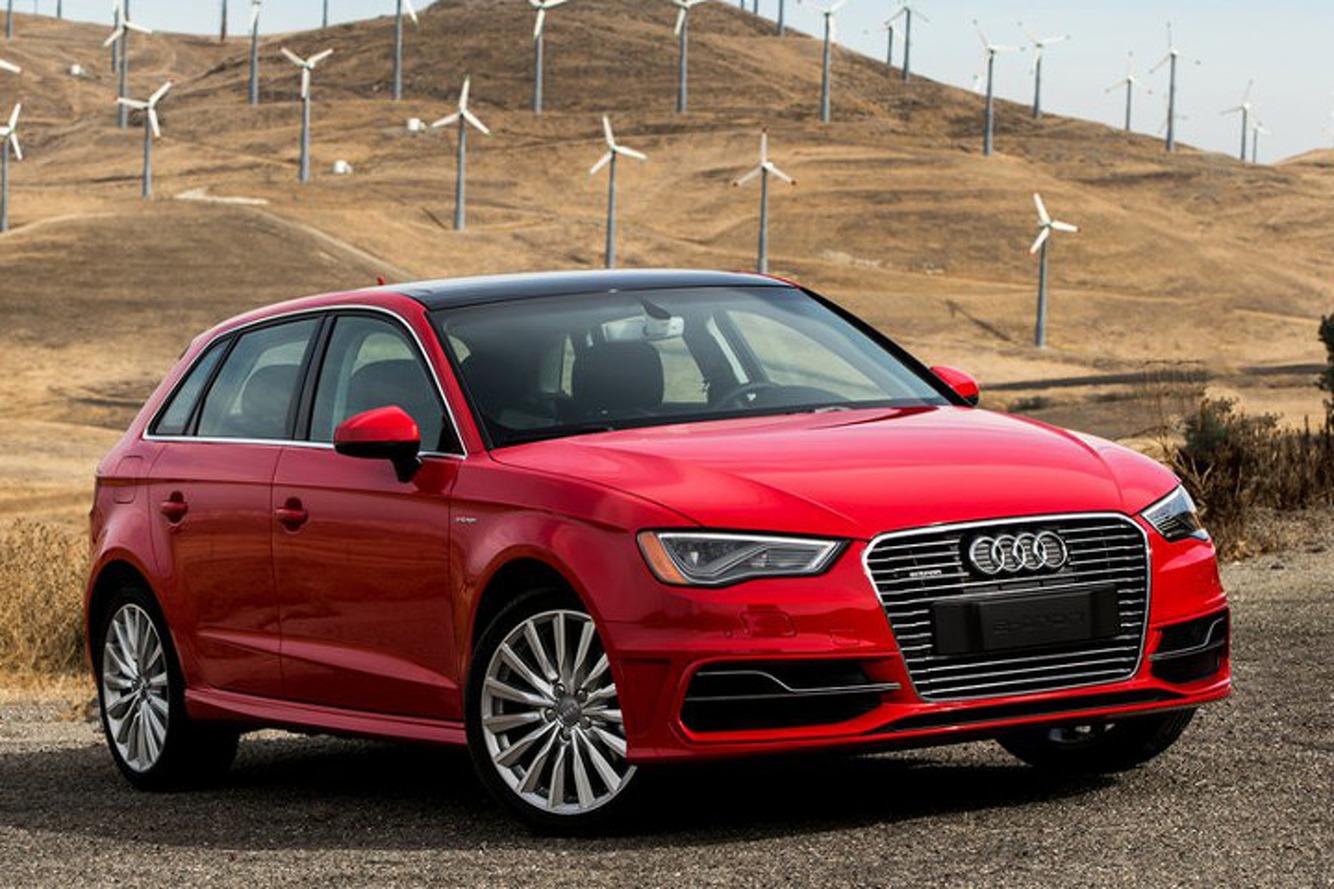 2016 Audi A3 e-tron Plug-In Hybrid First Drive