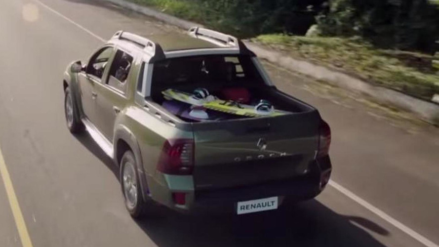 Renault Duster Oroch production version stars in first promo clip