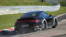 Next-gen Porsche 911 spy photo