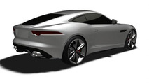 Jaguar F-Type Coupe hits the patent office