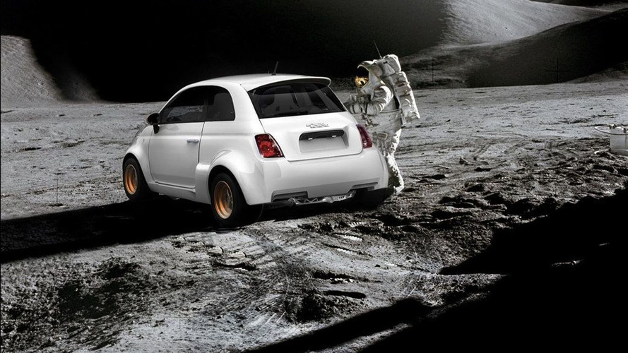 Electric Fiat 500 from Atomik Cars has Lunar Ambitions