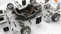 Leno Gets Ride in McLaren MP4-12C Prototype at Top Gear Track [Video]