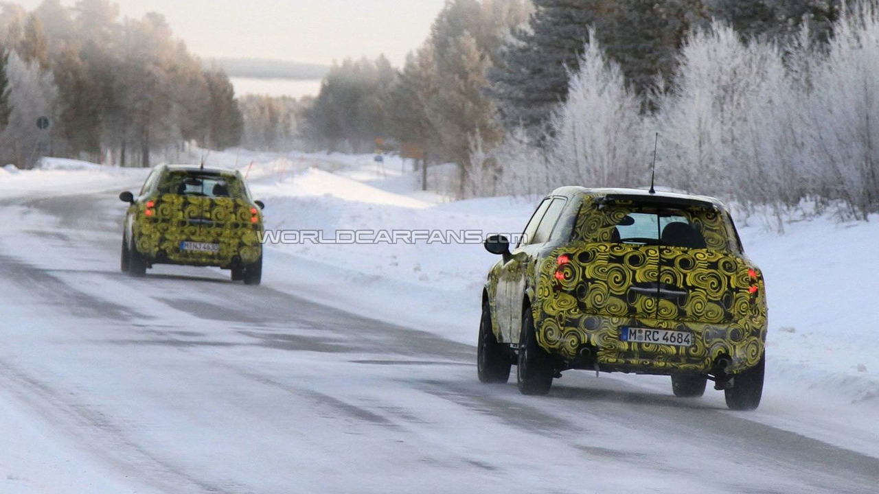 Mini Countryman / Crossman Testing