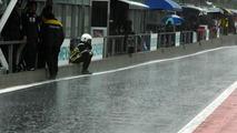 Rain forecast for whole Belgian GP weekend