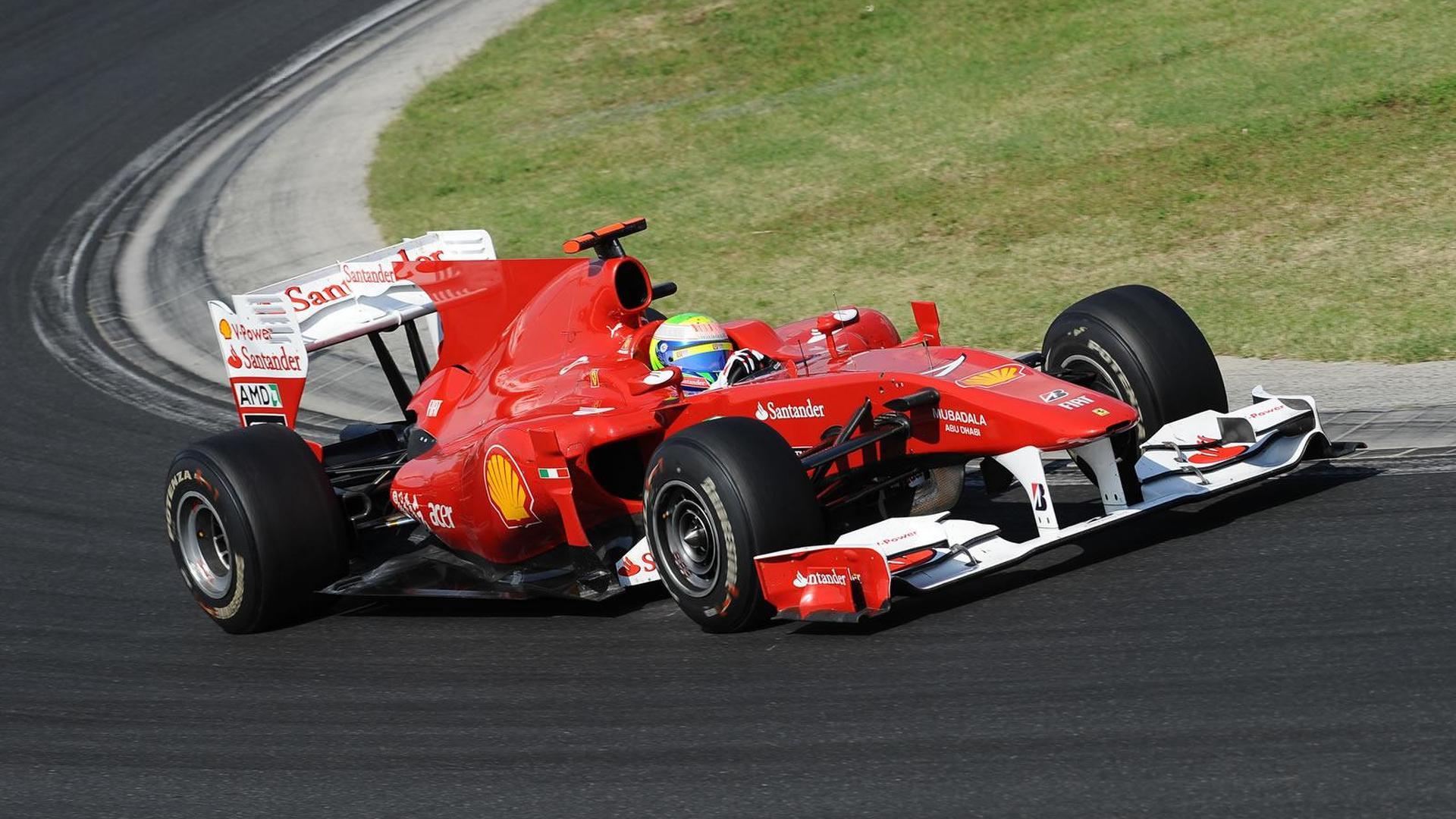 Ferrari running through 2010 engine allocation