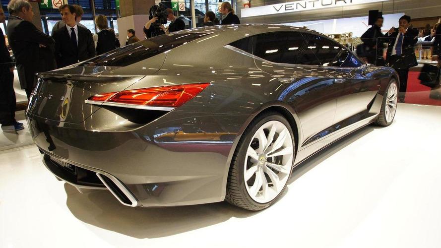 Lotus Eterne four-door sedan surprise reveal in Paris