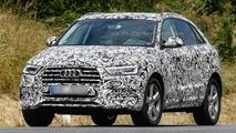 2015 Audi Q3 facelift spied showing new details