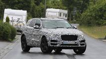 2016 Jaguar F-Pace spy photo