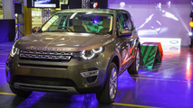 Land Rover Discovery Sport production
