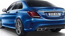 Mercedes C63 AMG & C63 AMG S revealed with up to 510 PS