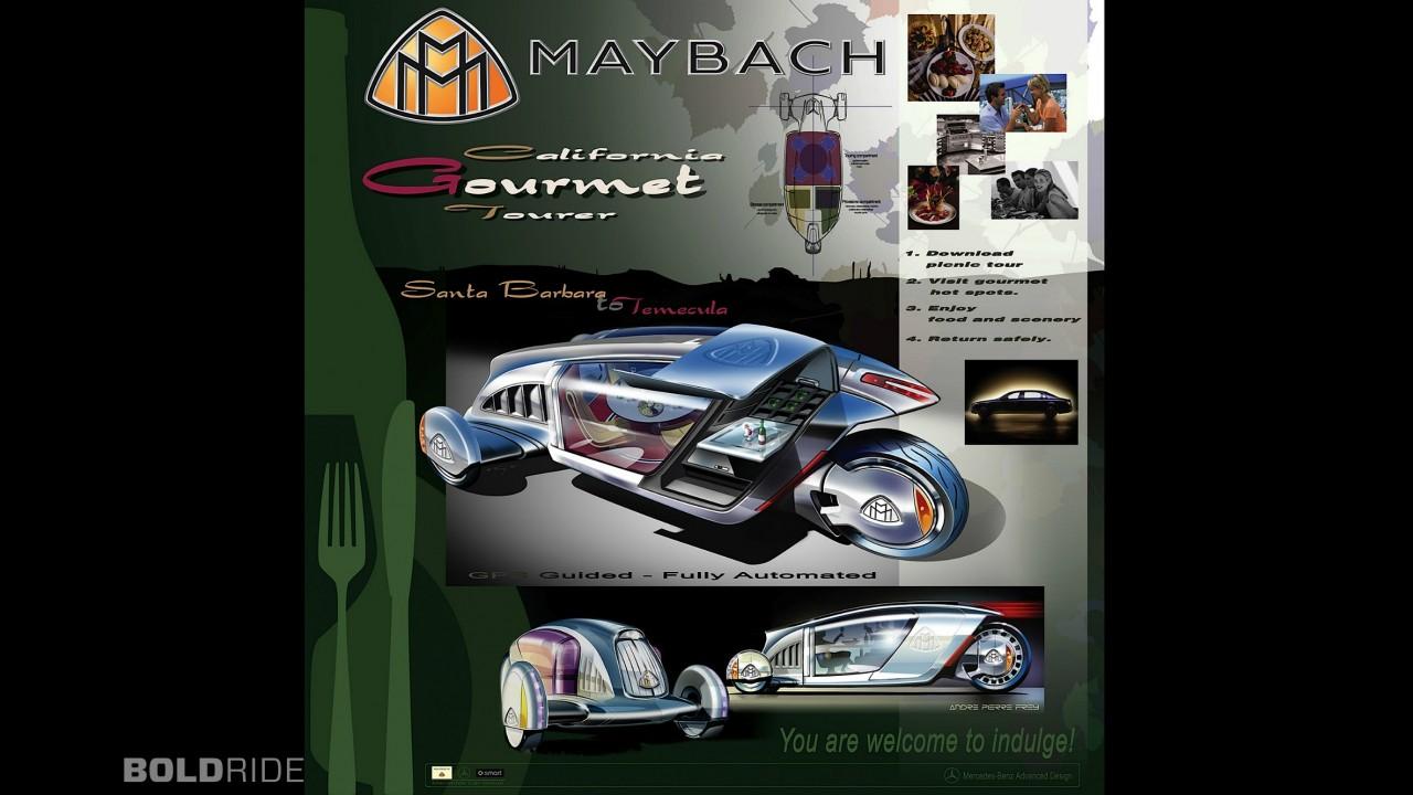 Maybach LA Design Challenge California Gourmet Tourer