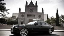 Rolls-Royce Ghost with ADV.1 wheels, 1024, 23.12.2011