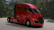 Nikola One truck will run on hydrogen, not battery power