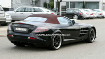 Mercedes SLR 722 Edition Roadster spy photo
