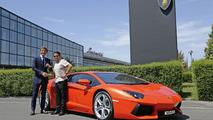 Lamborghini builds 1,000th Aventador
