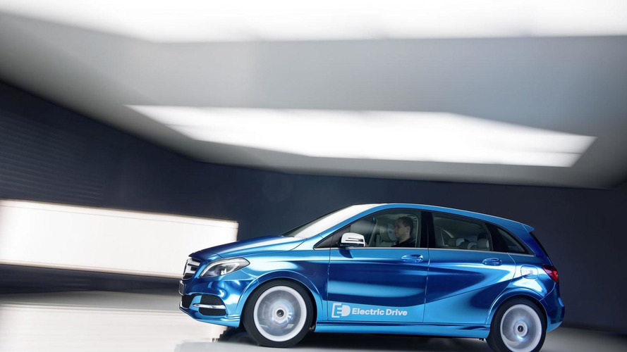 Mercedes B-Class Electric Drive concept revealed