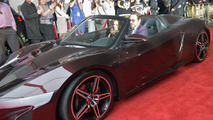 Acura NSX Roadster concept at The Avengers Premiere