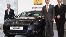 Renault Talisman luxury sedan unveiled at Beijing Motor Show
