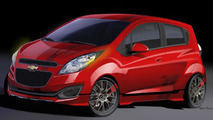 Chevrolet Spark Z-Spec concept for SEMA 22.10.2012