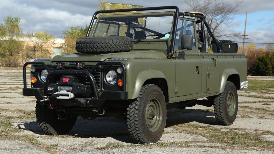 This Land Rover 110 is the military vehicle you've always wanted